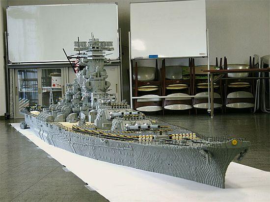 Lego Battleship Yamato