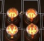 Nixie chess set 1