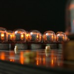 Nixie tube chess set glows without visible wires 2