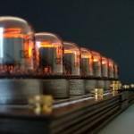 Nixie tube chess set glows without visible wires 3