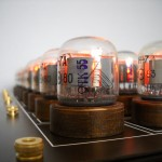 Nixie tube chess set glows without visible wires 6