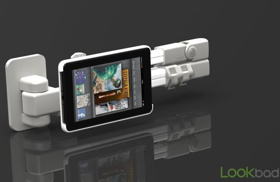 Lookbad AirHolder iPad holder and mount