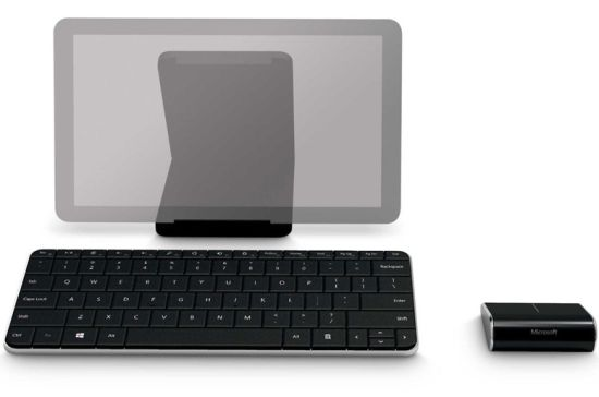 Microsoft Wedge mobile keyboard touch mouse