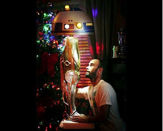 Star Wars Leg Lamp