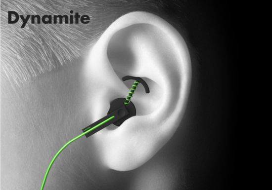 Dynamite earphones
