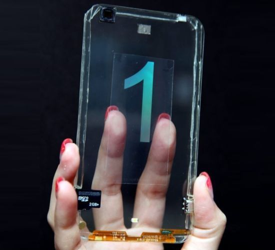 Transparent cellphone from Polytron Technologies_01