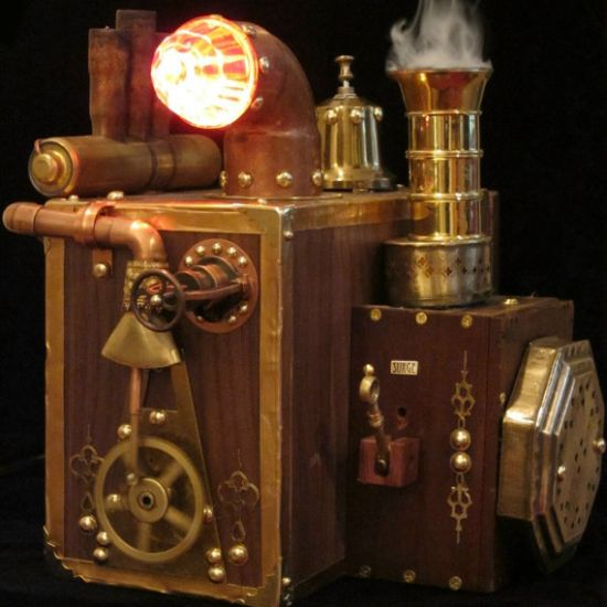 Steam Powered Computer Hard Drive