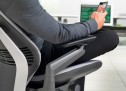 Steelcase Gesture Office Chair bends according to your body posture