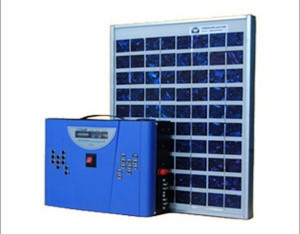 Solar-LED-Home-Lighting-System