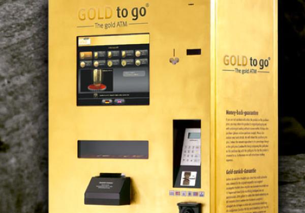 Gold vending machine, UAE