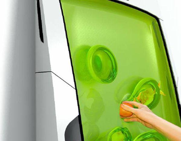 Zero-Energy Bio-Gel Refrigerator