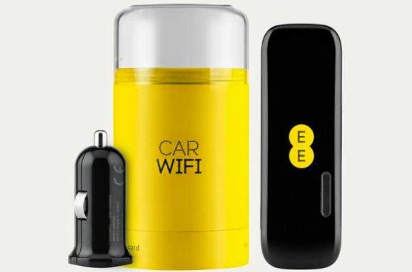 EE Buzard in-car hotspot