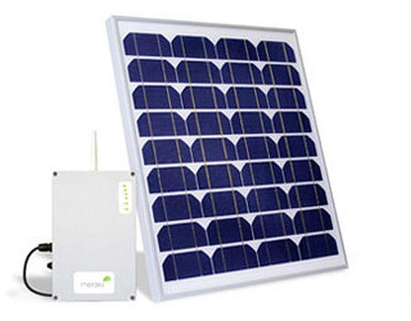 Solar powered Wi-Fi