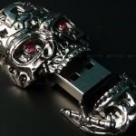 Scary Skull USB