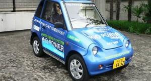 Water motorized car