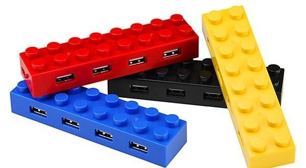 Lego USB hubs 3
