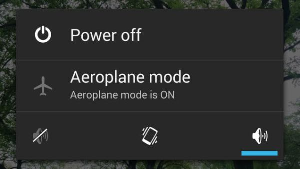 Faster charging on airplane mode