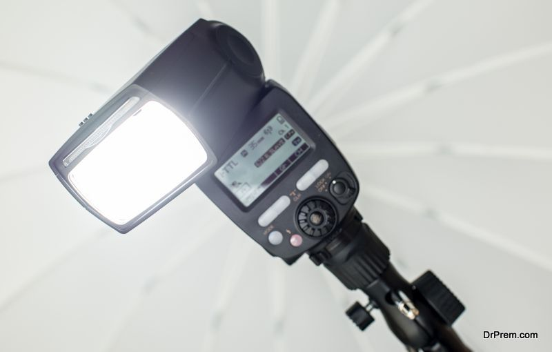 External flash and diffuser