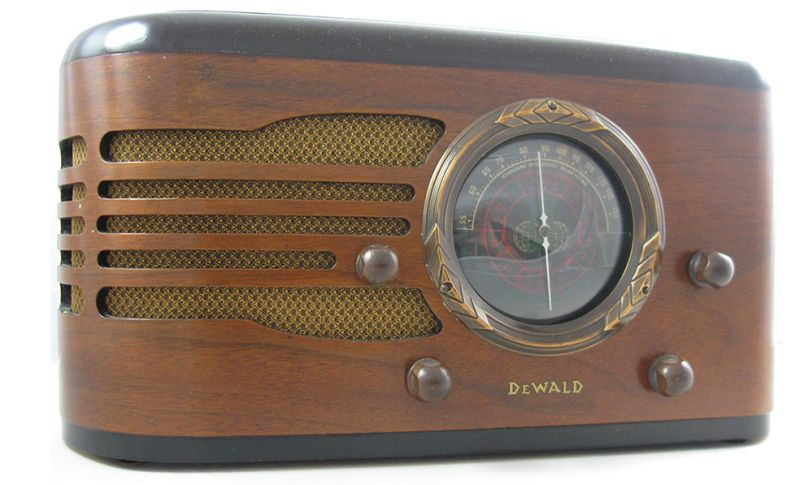old radio into a Bluetooth speaker