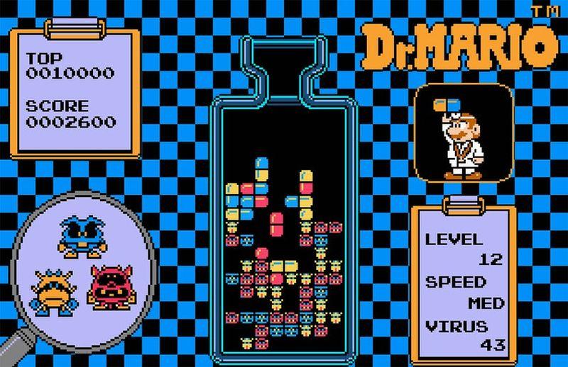 Dr. Mario by NES