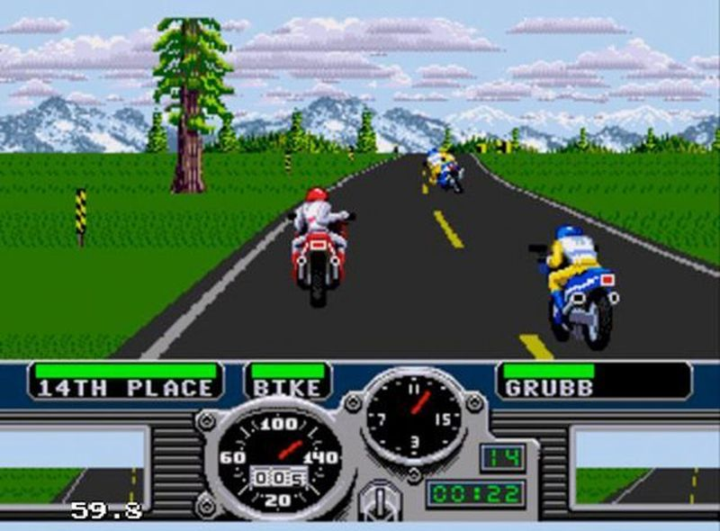 Road Rash by Electronic Arts