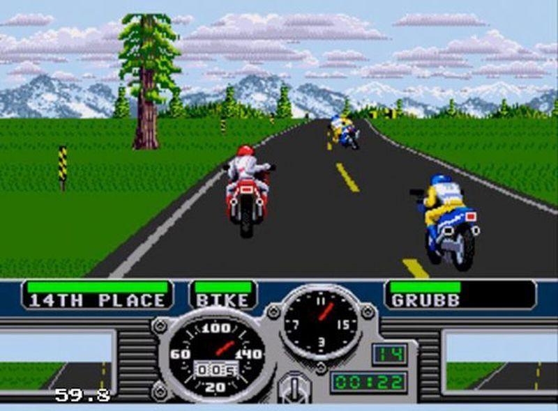 Road Rash by Electronic Arts