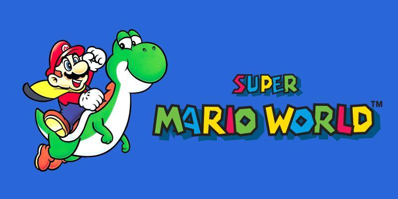 Super Mario World by SNES