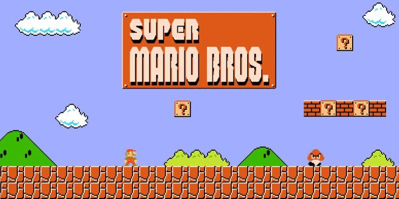 Super Mario by NES
