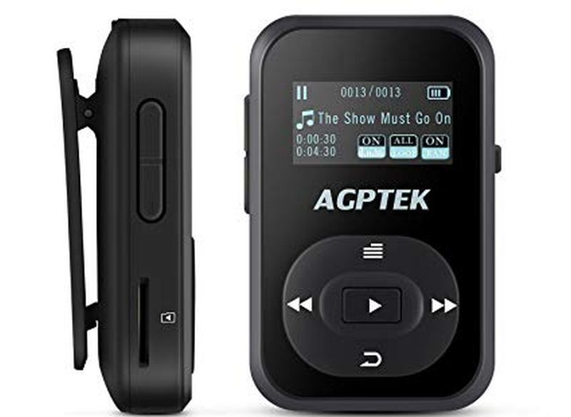 AGPTEK A26 8GB Bluetooth Mp3 player