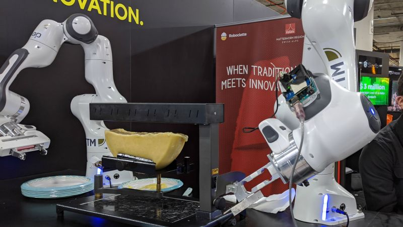 Cheese Scraping Robot